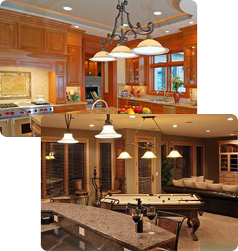 Kitchen and Basement Lighting | Electrical Services in North Aurora, IL