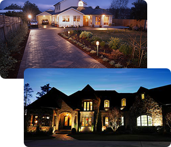 Landscape Lighting Installation in North Aurora, IL